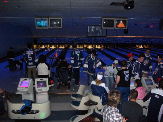 Bowl with the sudbury wolves
