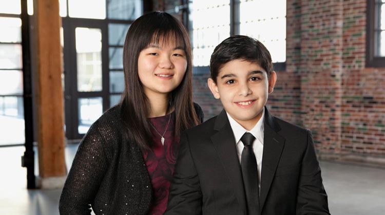 Victoria and Joshua our 2015 Ambassadors
