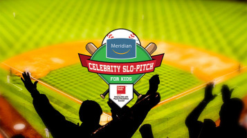 Celebrity Slo-Pitch Tournament sponsored by Meridian Credit Union & Century 21 BJ Roth Realty, Ltd