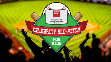 Celebrity Slo-Pitch Tournament sponsored by Meridian Credit Union & Century 21 B.J. Roth Realty, Ltd.