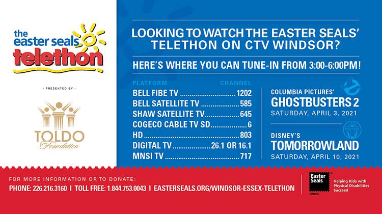 Windsor Telethon Movie TV Listings