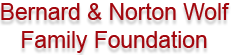 Bernard & Norton Wolf Family Foundation