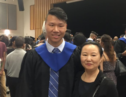 Scholarship Recipient Shares How He Learned to be Thankful