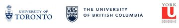 University of Toronto - University of British Columbia - York University