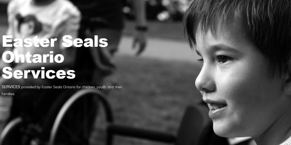 Services at Easter Seals Ontario