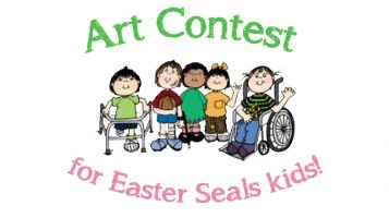 Art Contest for Easter Seals kids!