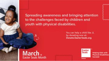 March Is Easter Seals Month-2021