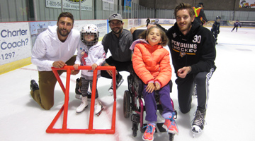 Thunder Bay Celebrity Skate for Easter Seals Kids