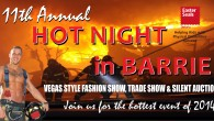 ..Hot Night, Canadian Style .. On Thursday, November 6 join us at the Bradford Greenhouses in Barrie for the 11th  anniversary of Hot Night In The City. For the 11th...