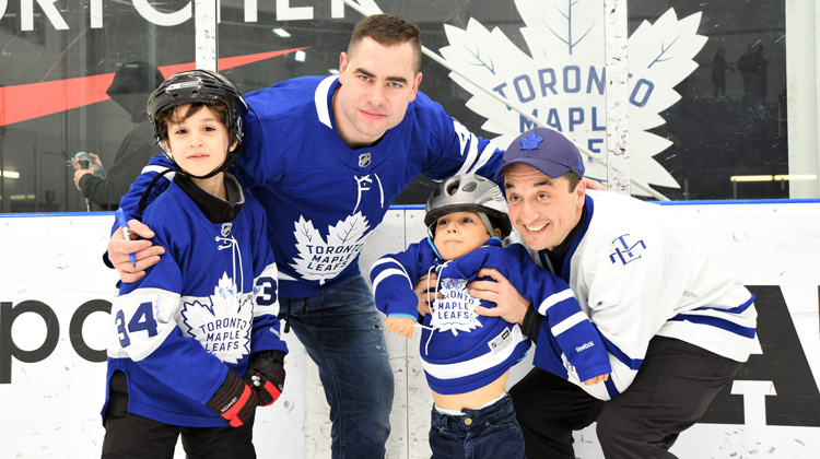 low priced f5d69 0ae51 Toronto Maple Leafs Skate for Easter Seals Kids - Easter ...
