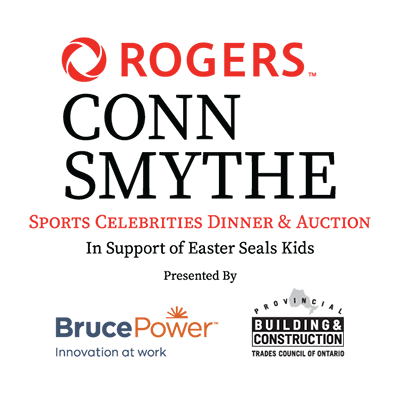 Rogers Conn Smythe Sports Celebrity Dinner and Auction in Support of Easter Seals Kids